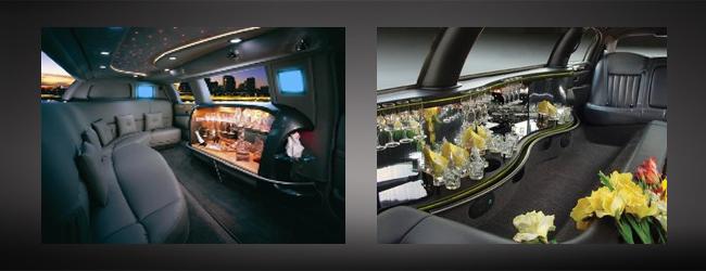 Interior - limo